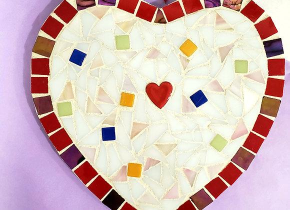 Mosaic Kit - Small Heart