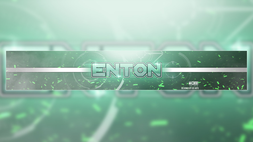 Enton | Commissioned Youtube Banner