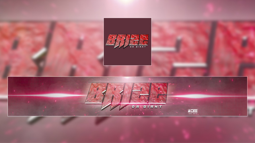 Brize Da Giant | Commissioned Youtube Banner & DP