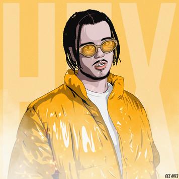 Wavey HEX Illustration