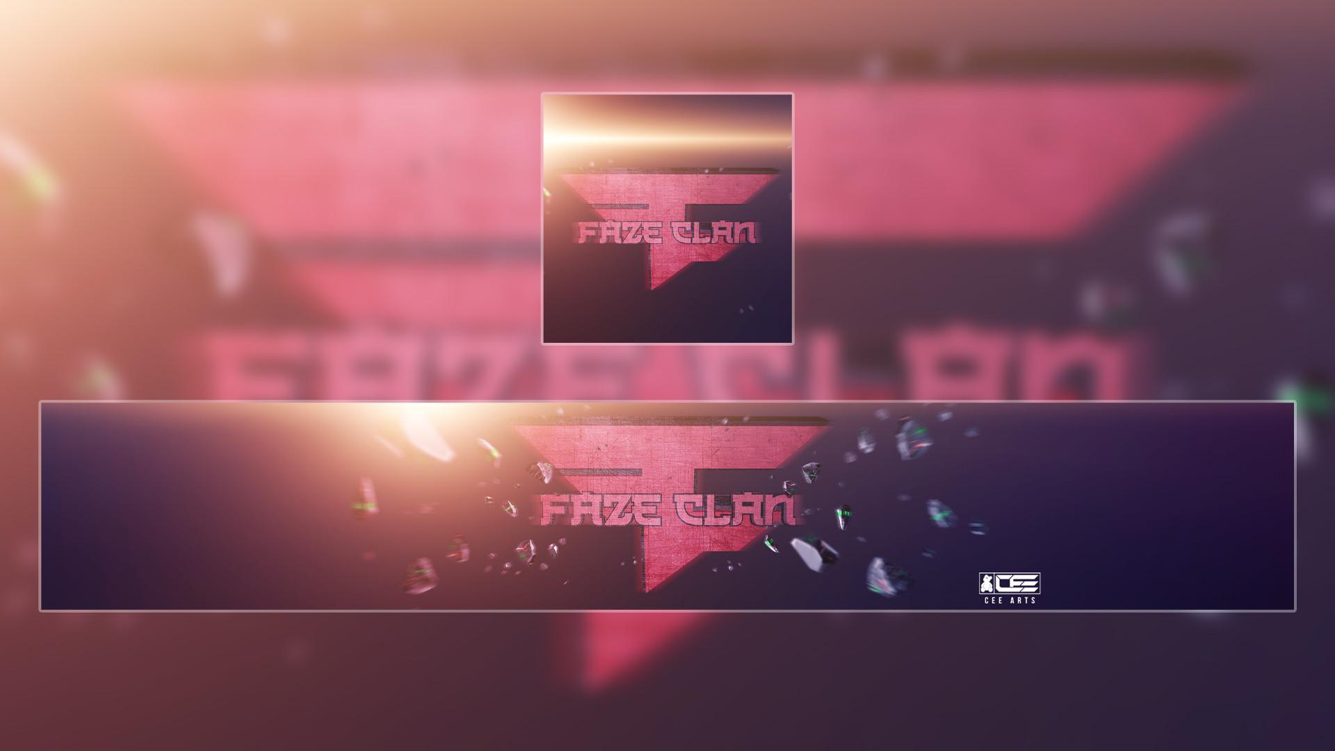 Faze Clan | Concept Yotube Banner & DP