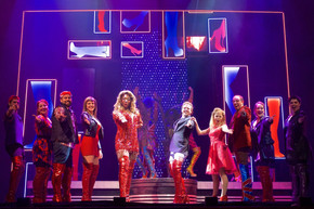 As Nicola in Kinky Boots