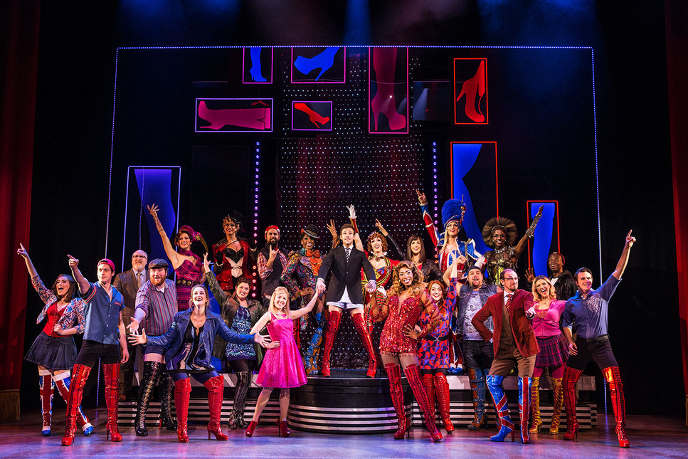 In the Kinky Boots 2nd National Tour