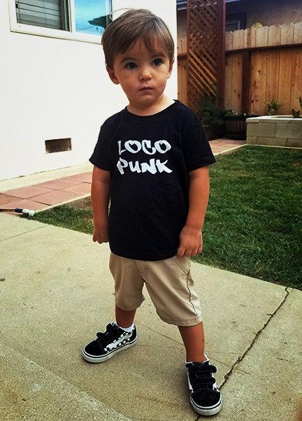 Loco Punk Kids Tee