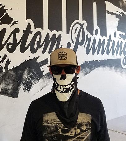 Misfits Skull Bandana