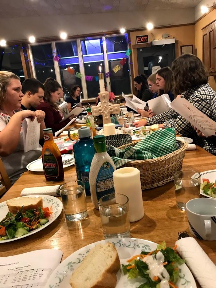 dinner church 2018