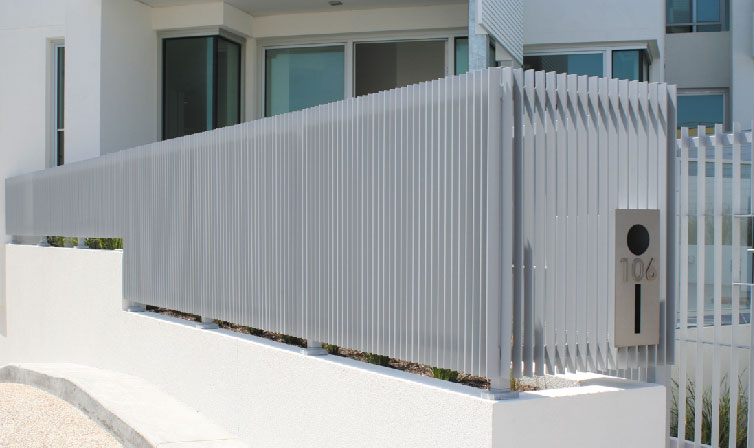 HRS verticle steel fence
