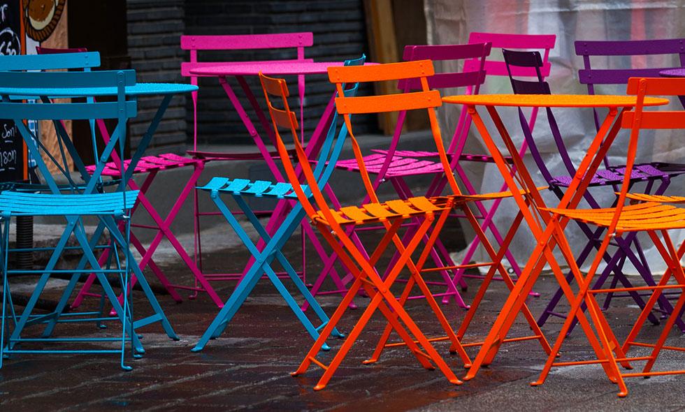 powder c chairs