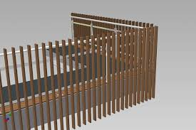 verticle timber balustrade