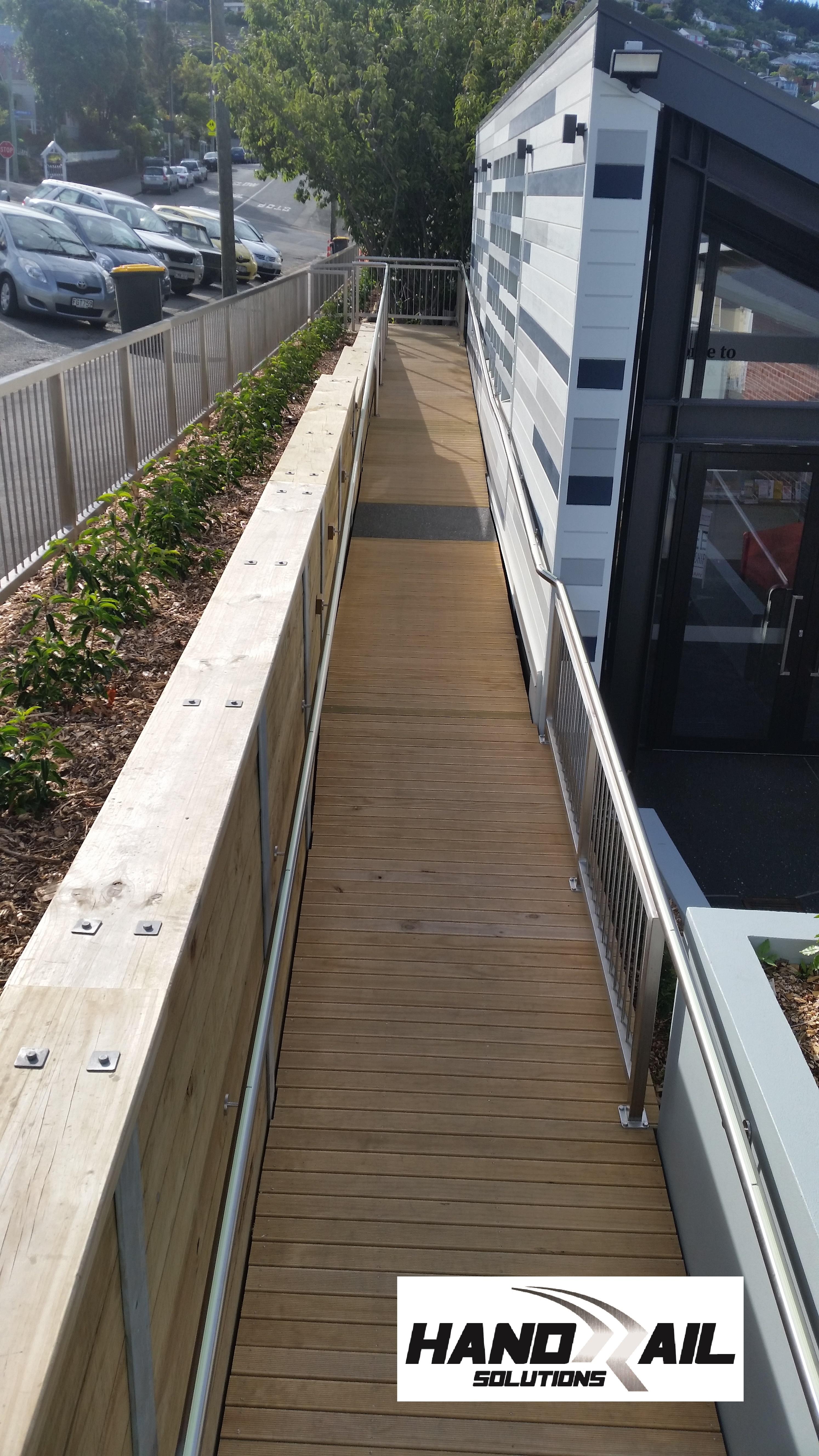 custom ramp rails