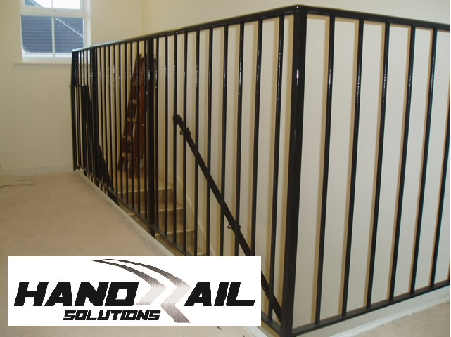HRS-10PC  Black verticle balustrade