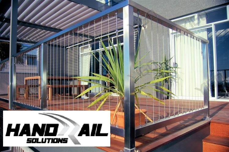 HRS stainless balustrade with wire rod