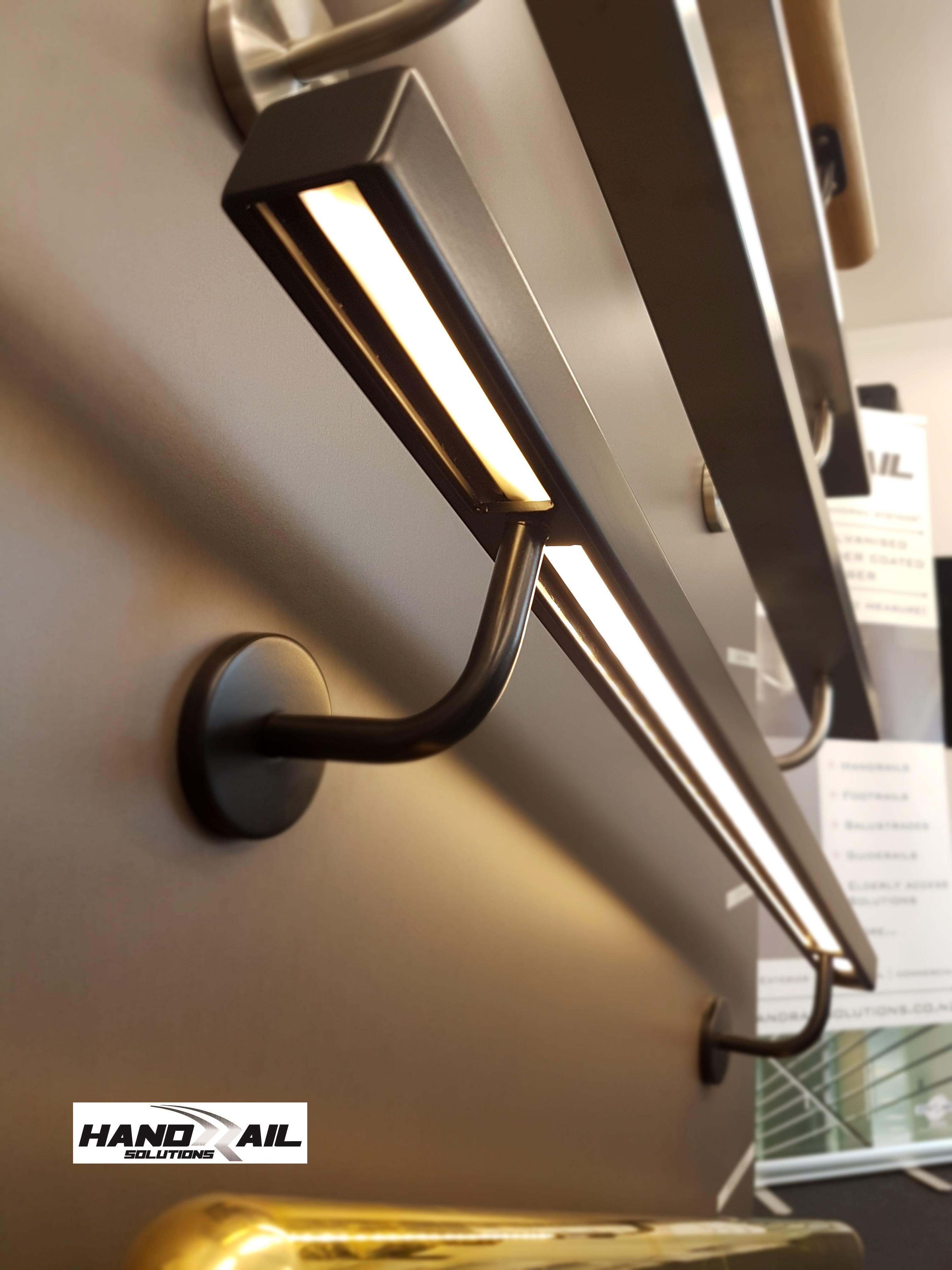 HRS led 40x30 handrail underside
