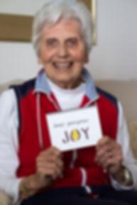 Happy older woman Alex Rotas REACT study