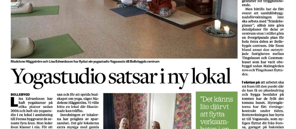 Artikel i Borås Tidning