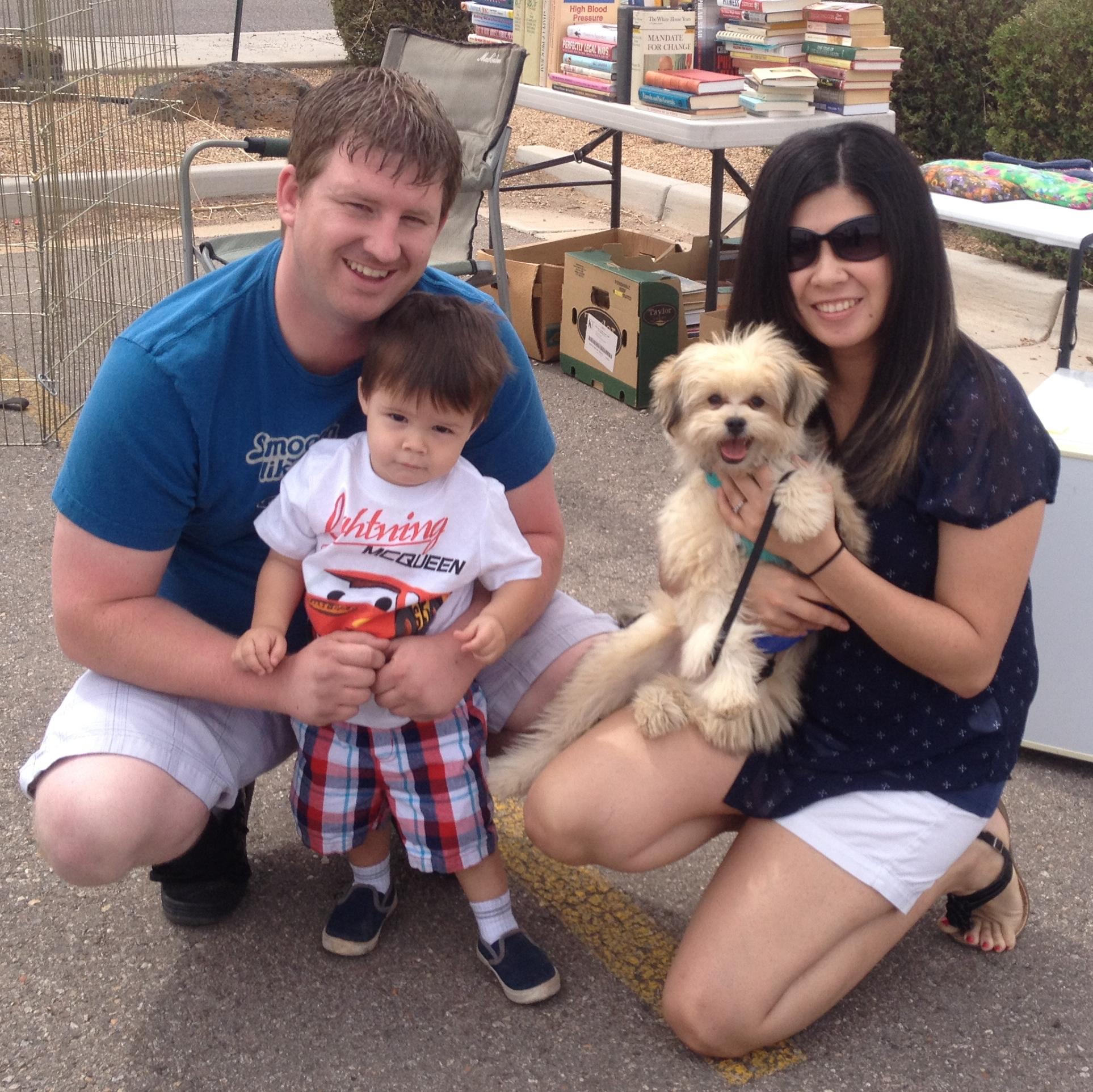 Toby's new family