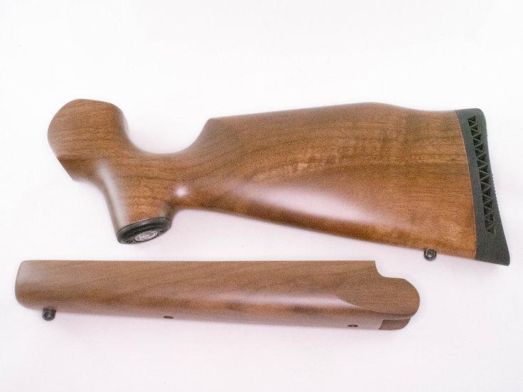Encore walnut buttstock and rifle forearm