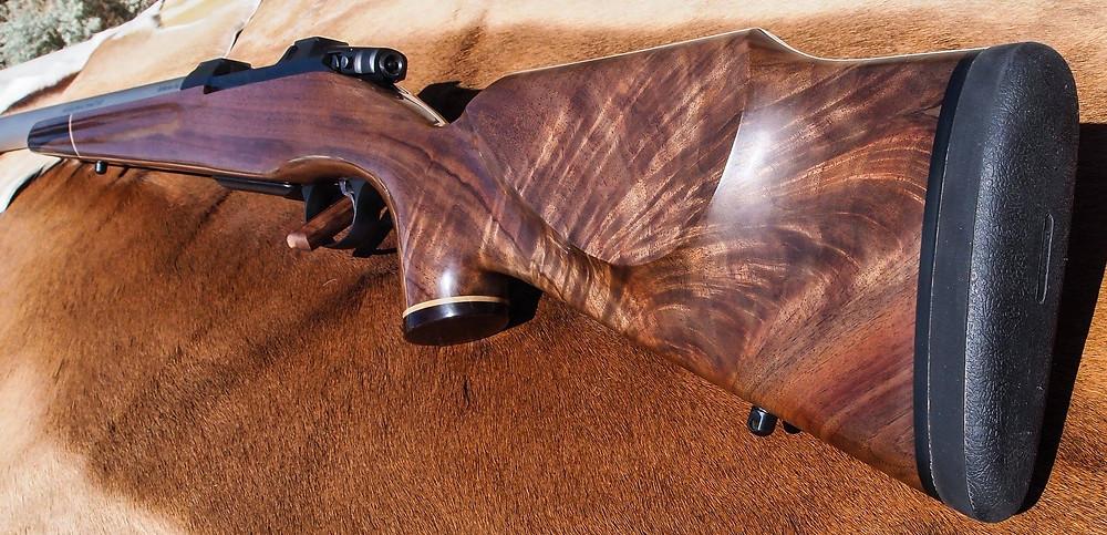 Feather figure custom stock