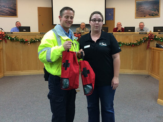 BAM Donates Pet Oxygen Masks to City of Hurricane