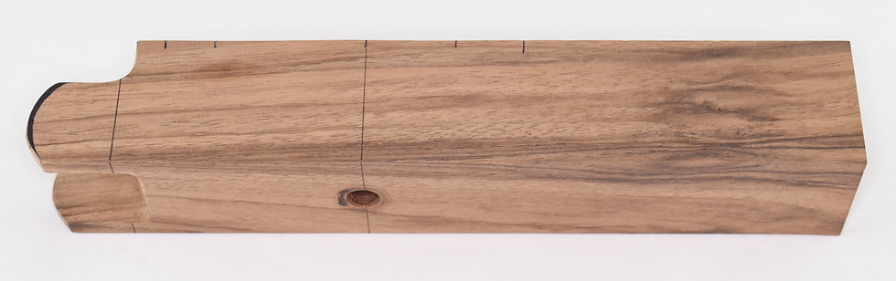 "9"" Medium Grade English walnut forearm — Encore"
