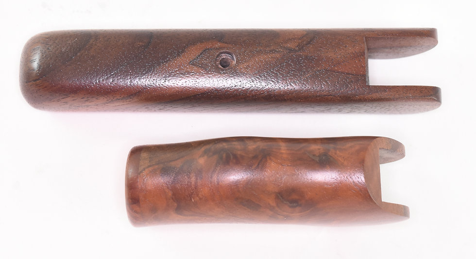 Black Walnut ambidextrous grip set — Contender