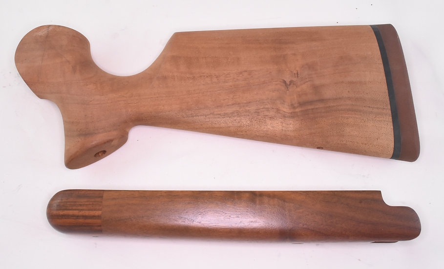 Left-handed High Grade Black Walnut stock set — Encore