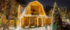 Коттедж дом Лесника ночь.jpg