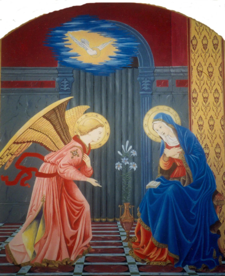 Annunciation by Thomas D. Williams
