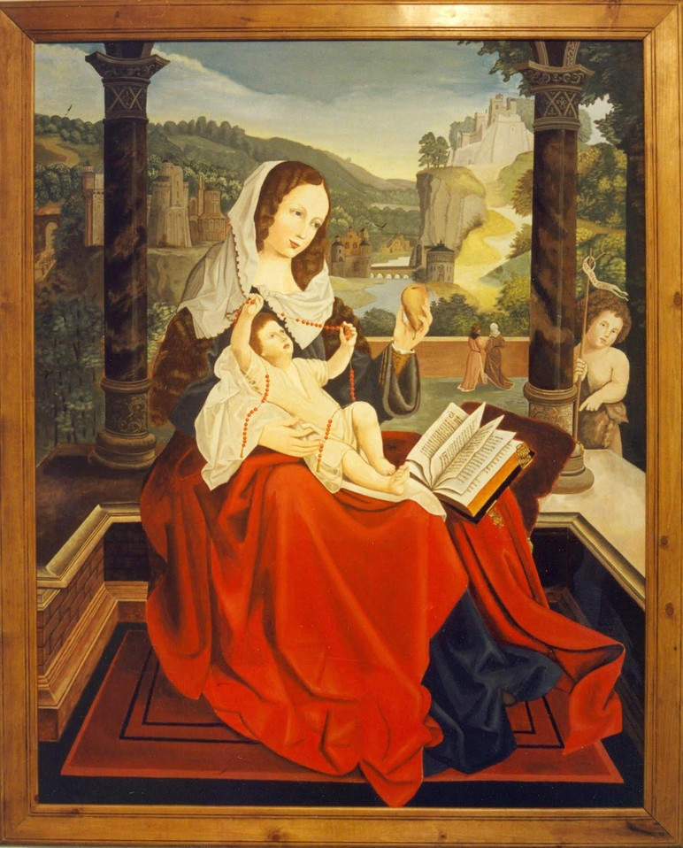 Madonna and Child by Thomas D. Williams