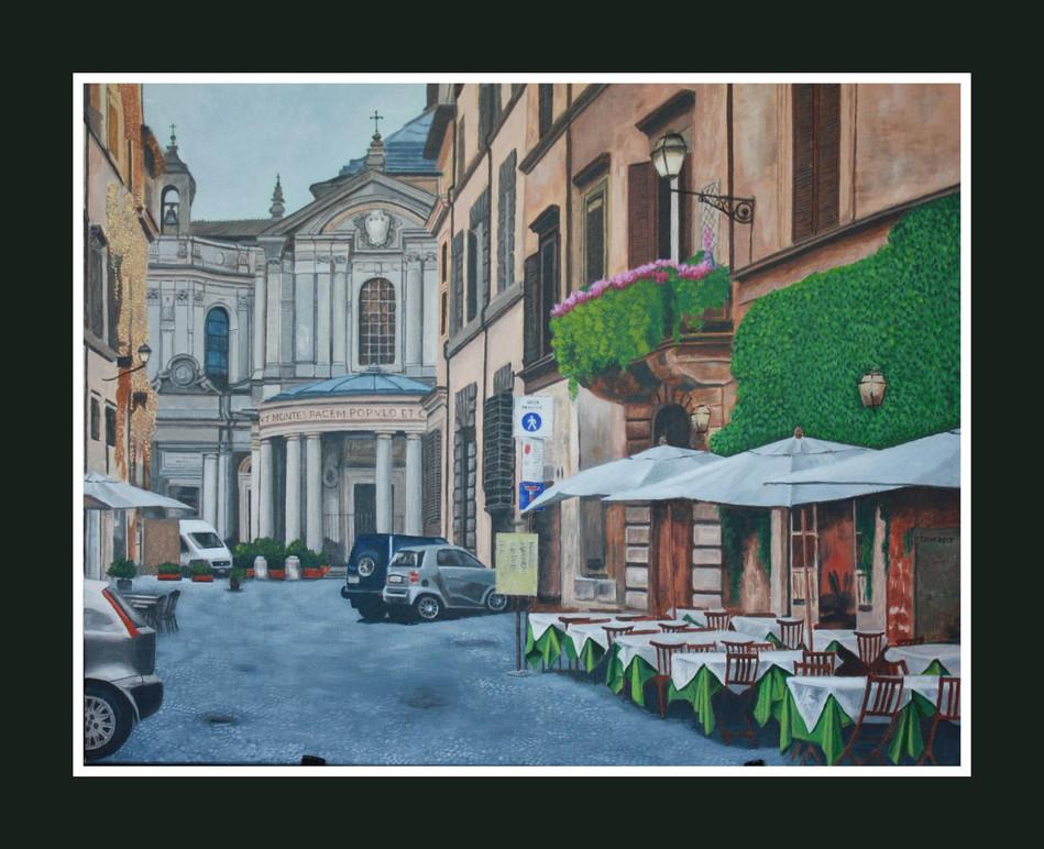 Santa Maria della Pace by Thomas D. Williams