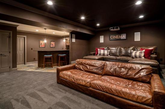 New Albany Movie Room