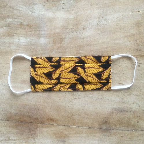 Masque Feuille moutarde Taille S