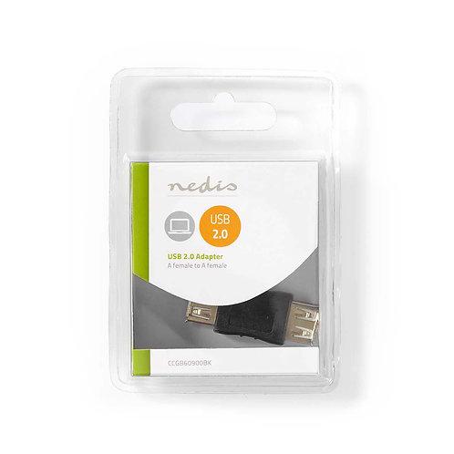USB 2.0-Adapter | A Female - A Female | Zwart