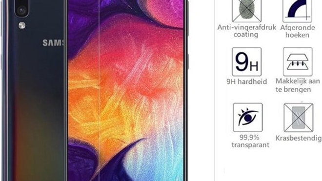 Samsung A50s Tempered glass screen protector