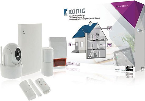 Smart Home Security Set | König | Wi-Fi 868Mhz