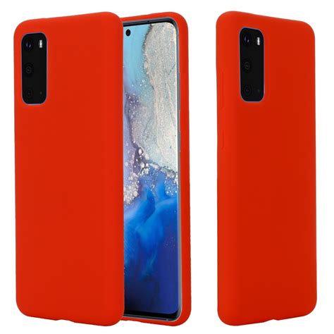 Samsung S20 Siliconen Case