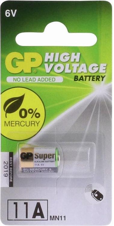 GP Batteries High Voltage 11A Alkaline 6V