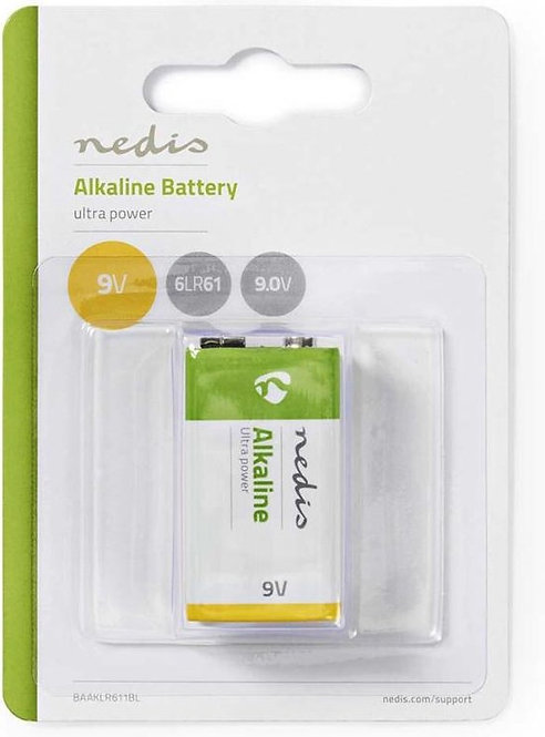 Alkaline Battery 9V - Blister