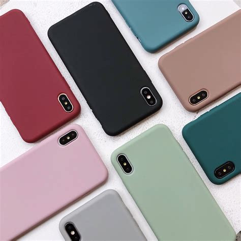 iPhone X/XS Siliconen Case