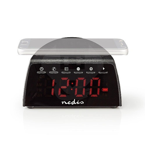 Bluetooth alarm clock radio