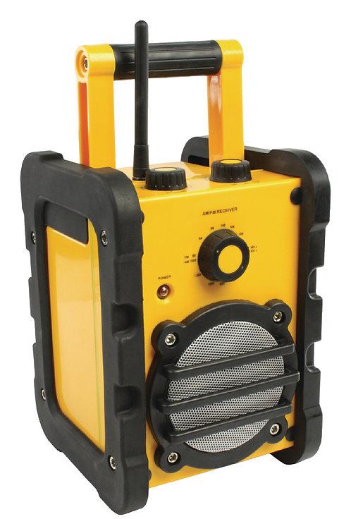 Portable FM Radio FM / AM Yellow/Black