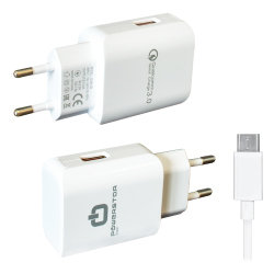 Universele Fast Charger 3.0A - USB-C