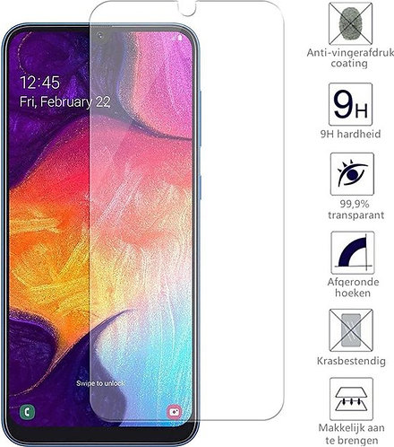 Samsung A20 Tempered glass screen protector