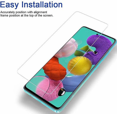 Samsung A21 Tempered glass screen protector