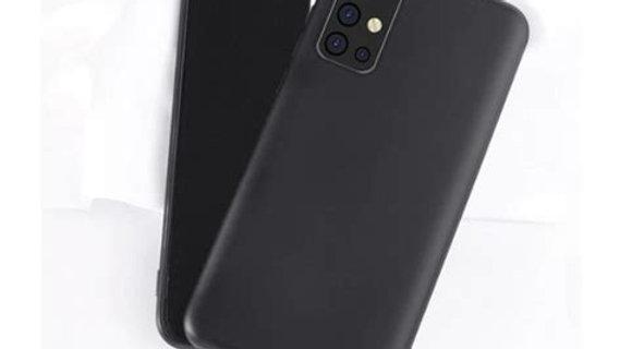 Samsung A71 Siliconen Case