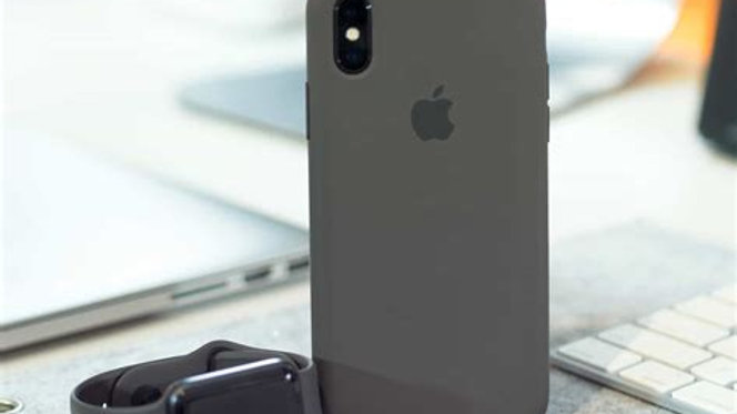 iPhone XS max Siliconen Case