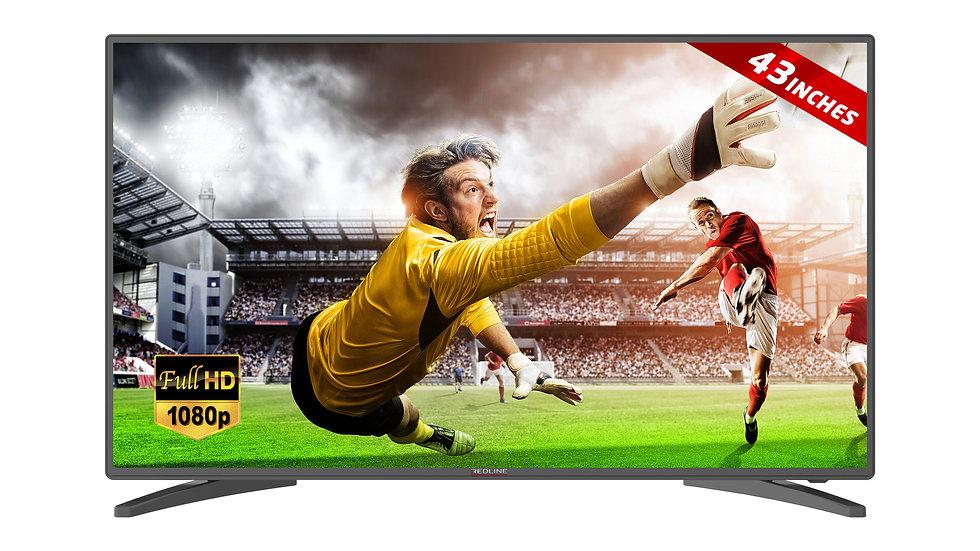 Smart TV - Redline PS43 - LED - FULL HD - 43 inch (109 cm)