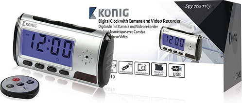 Digitale clock met camera