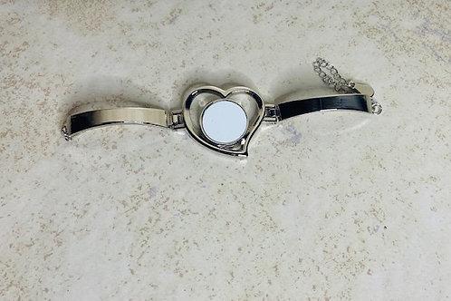 Cuff Bracelet-Heart
