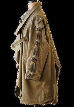Military coat side